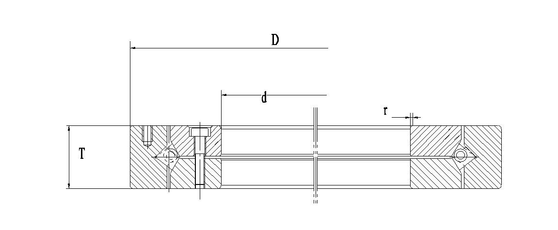 BXR型交叉圆锥滚子轴承