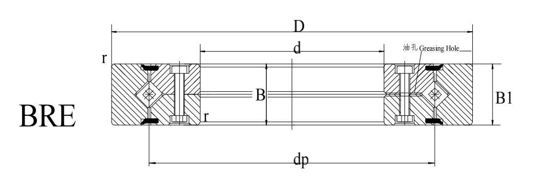 BRE型交叉滚子轴承